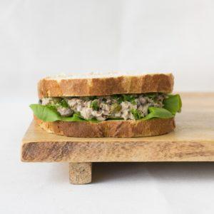 Boterham tonijnsalade